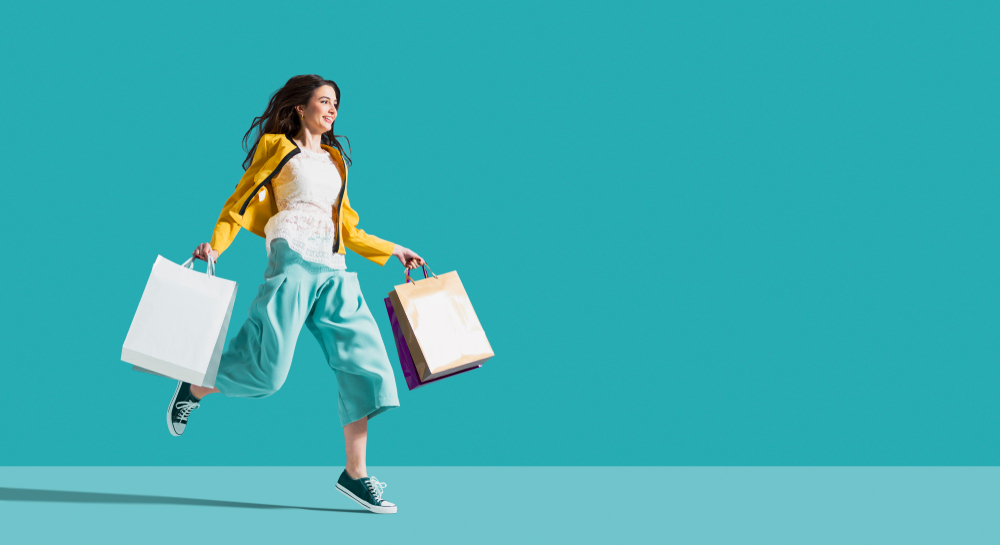 shopping through online